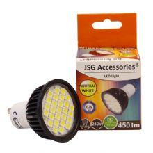 GU10 LED Bulb 5.5W Spot Lamps with 27 x 5050 SMD chips in DAY WHITE = 50W - 60W Halogen (1)